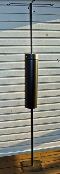 "The ""Ultimate"" bird feeder pole"