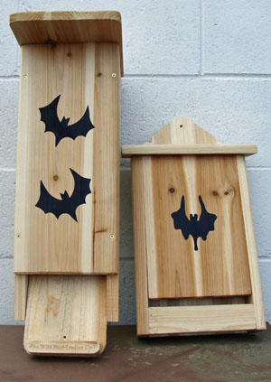 Bat Houses. Photo by Terry Sprague