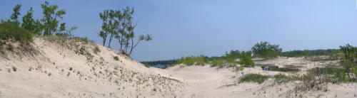 Sandbanks dunes, photo by Nick White