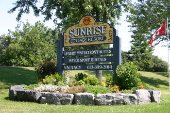 Sunrise sign, Sunrise Cottage Resort photo