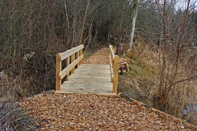 The Timber Trail is the latest to be added to the trail system. Photo by Terry Sprague
