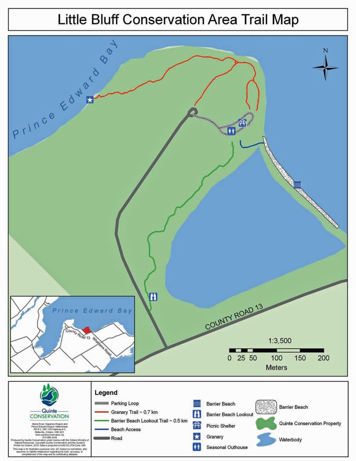 Map. Courtesy of Quinte Conservation