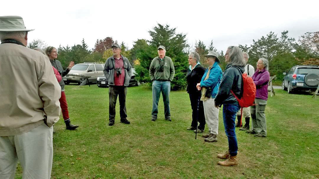 Peter Fuller and Roger Frost led a full day outing of WBFN and Prince Edward County Field Naturalists members at the Prince Edward County South Shore IBA this past Saturday. The outing started at the Prince Edward Point Bird Observatory and 40 species of birds were recorded in two and a half hours.